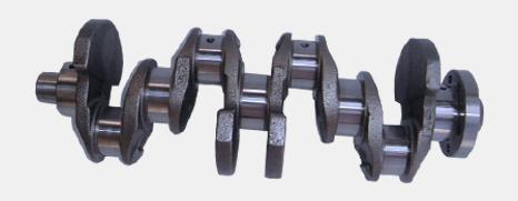 Cast crankshaft